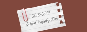 2018-19 School Supply Lists