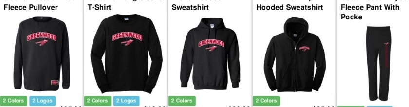 Greenwood Apparel Sale