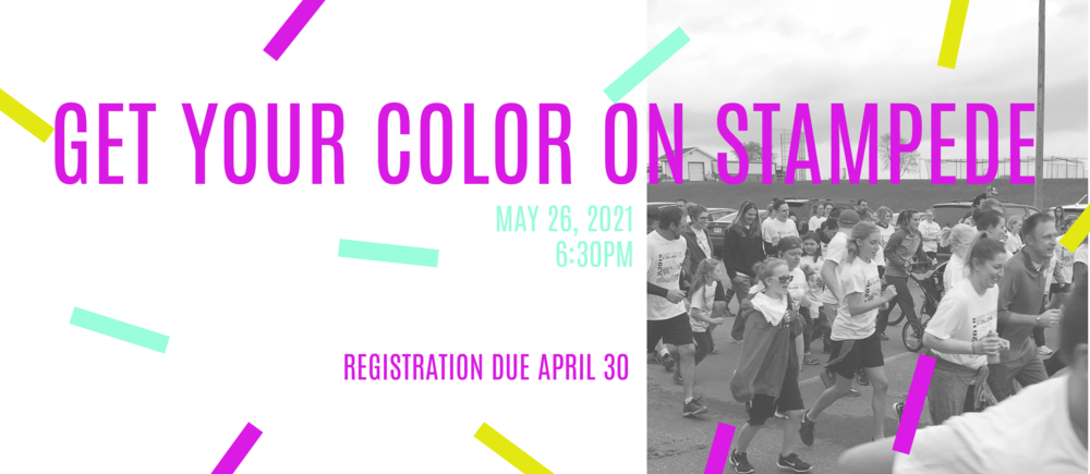 Get Your Color On Stampede 2021