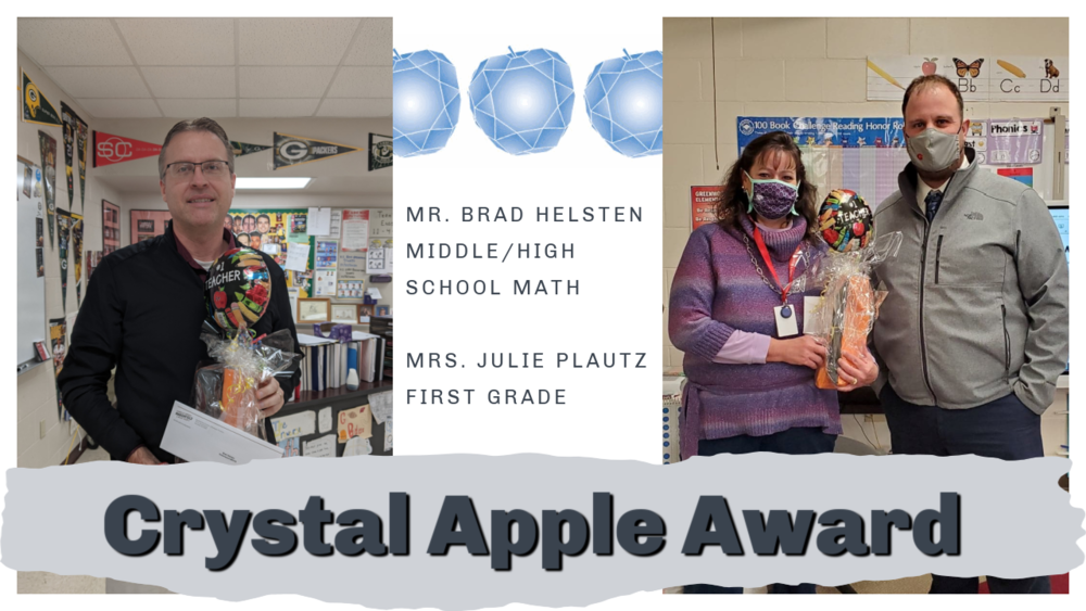 Crystal Apple Teachers of Distinction 2021 Announced