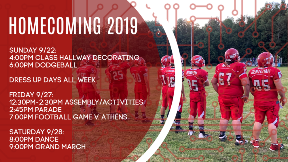 Homecoming Week - 2019 Information
