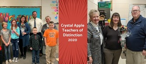Crystal Apple Teachers of Distinction 2020