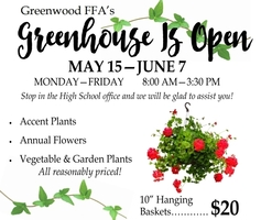 FFA Greenhouse Open